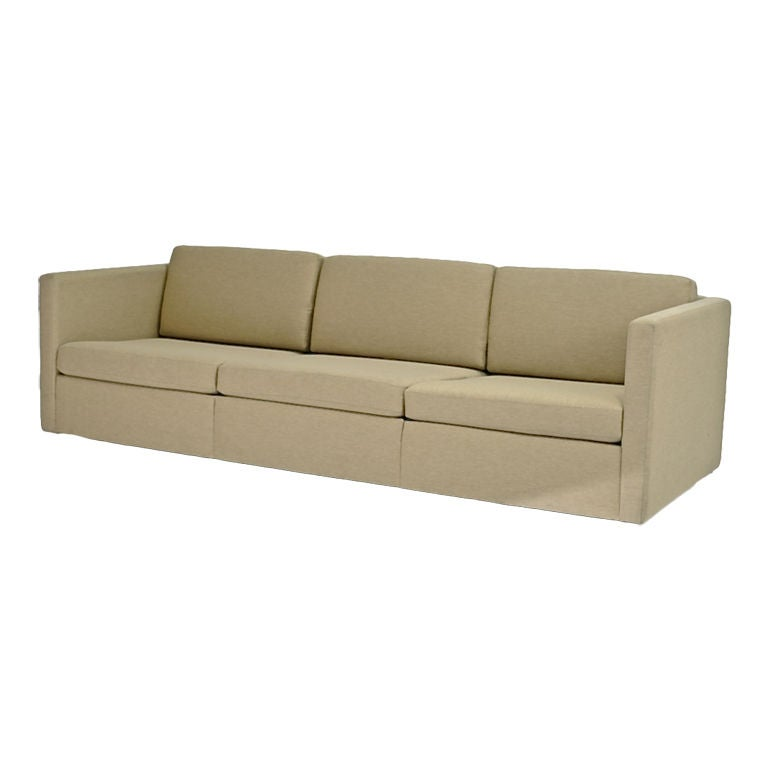 Charles Pfister Three Seat Sofa For Knoll