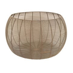Monumental Hand Woven Basket