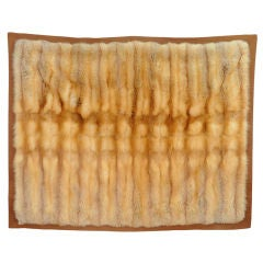 Rare and Exquisite Hermes Orylag Fur Blanket