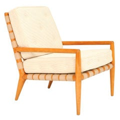 A T.H. Robsjohn-Gibbings Strap Lounge Chair for Widdicomb