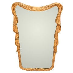 Gold Gilded Mirror After Dorothy Draper