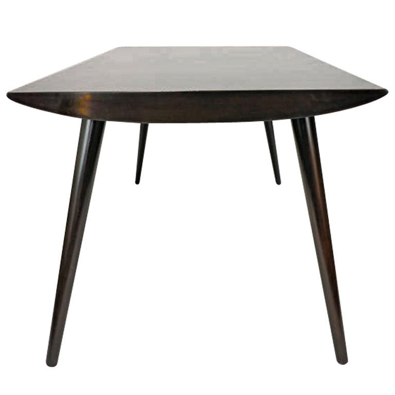 Unique architectural speedboat dining table at 1stdibs for Unique dining tables for sale