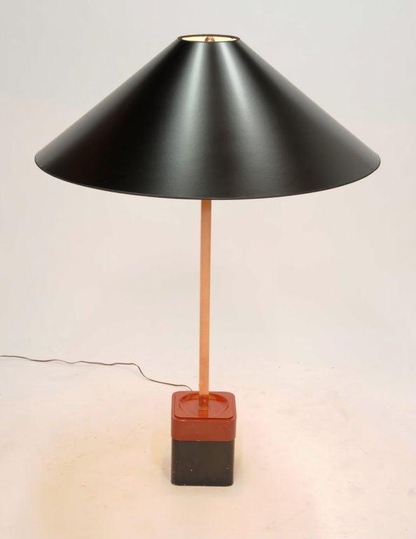 American Rare Paul Laszlo Inc Custom Floor Lamp for the Finer Residence For Sale