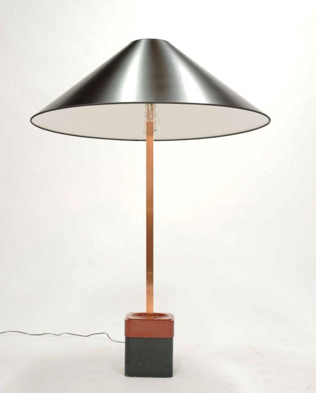 Wood Rare Paul Laszlo Inc Custom Floor Lamp for the Finer Residence For Sale