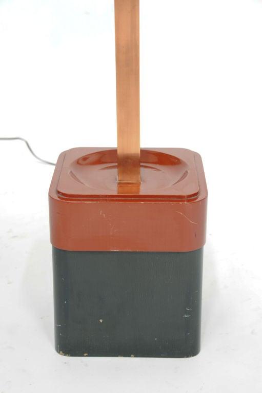 Rare Paul Laszlo Inc Custom Floor Lamp for the Finer Residence For Sale 1