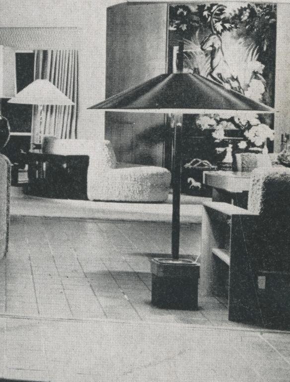 Rare Paul Laszlo Inc Custom Floor Lamp for the Finer Residence For Sale 4