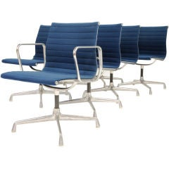 Robert Propst's Aluminum Group Chairs by Charles and Ray Eames