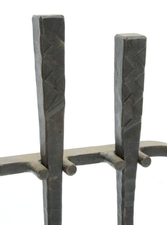 Hand Forged Fireplace Tools - Hand Forged Iron Fireplace Tools |