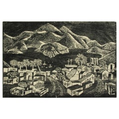 Portfolio of Woodblocks Prints by Californian Catherine Felps