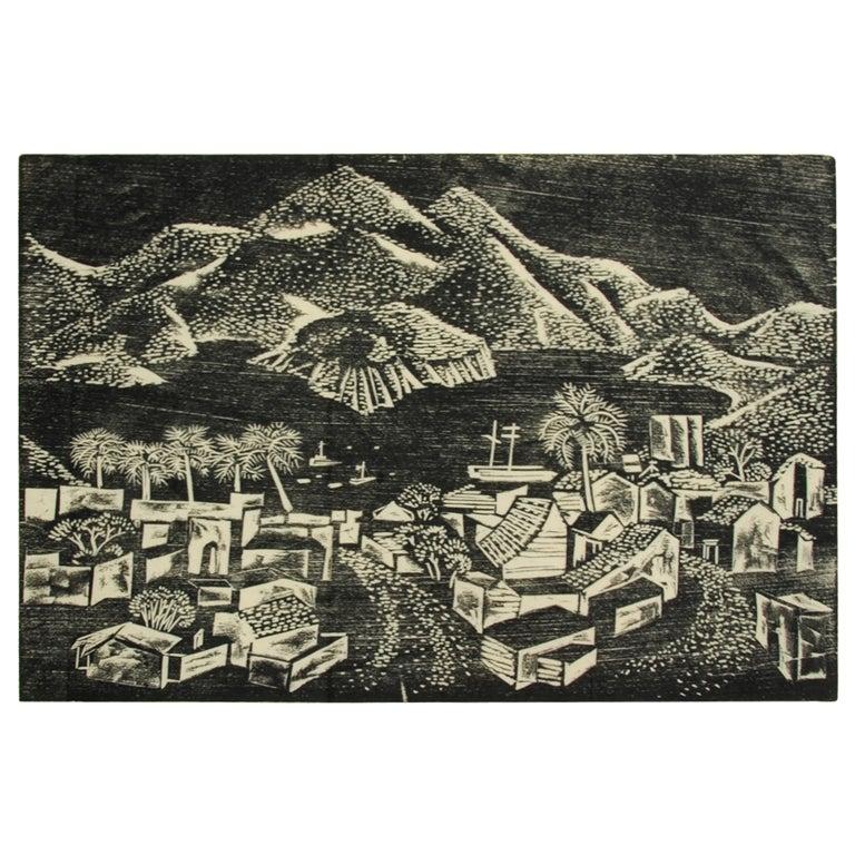 Portfolio of Woodblocks Prints by Californian Catherine Felps