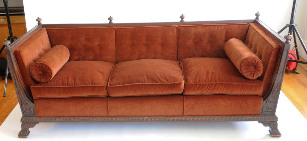 A grand and well built sofa
