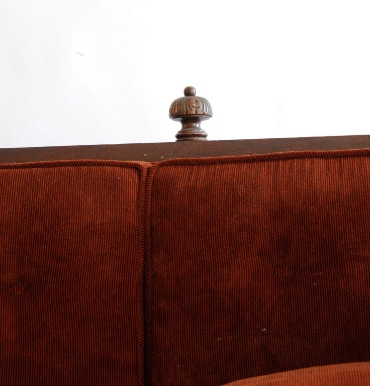 Oak Victorian Sofa