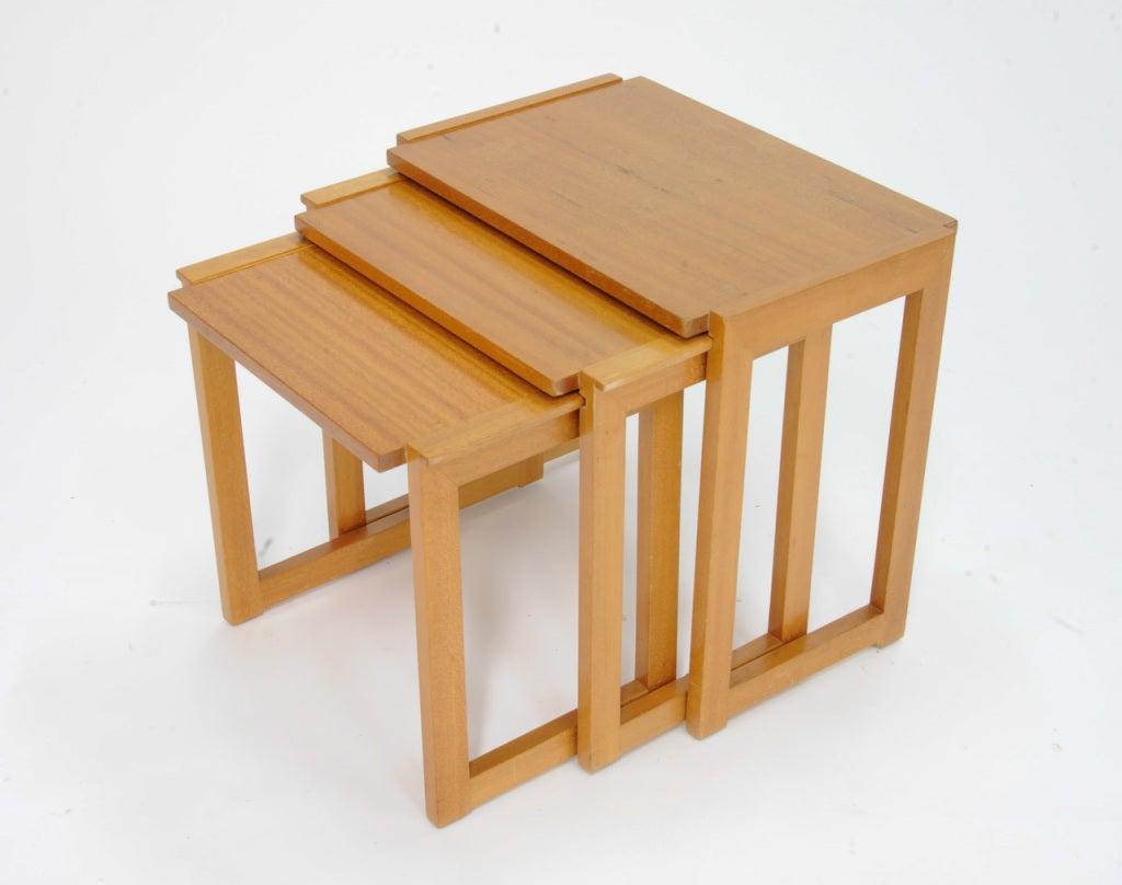 Paul laszlo nesting side tables at stdibs
