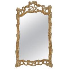 Hand Carved Italian Wall Mirror