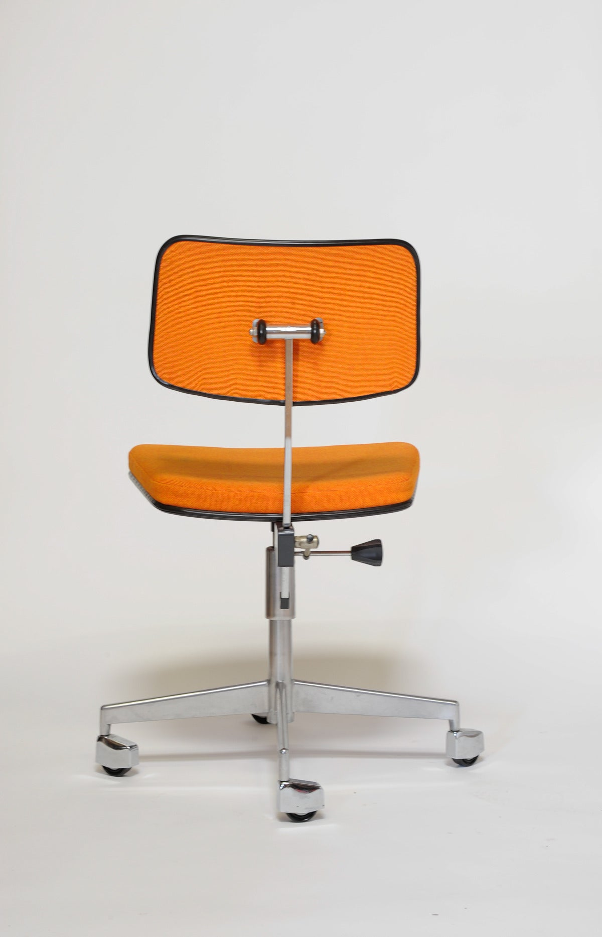 1960s Labofa Danish Rolling fice Chair at 1stdibs