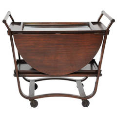 Edward Wormley for Dunbar Bentwood Bar Cart