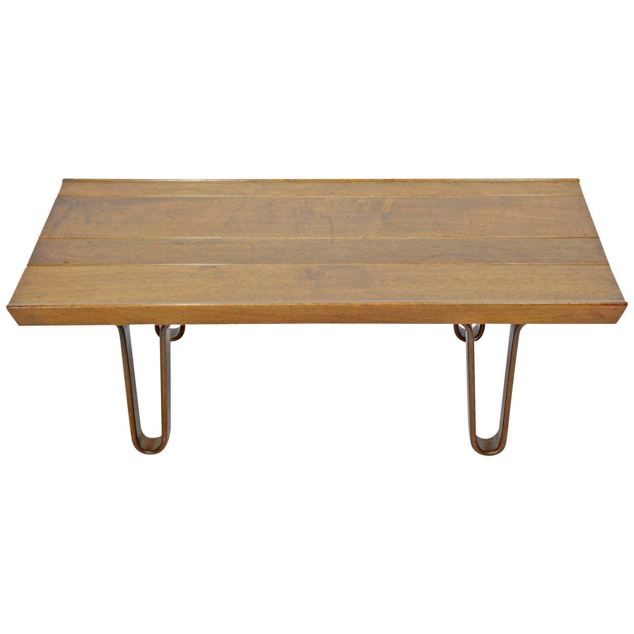 Edward Wormley For Dunbar Long John Bench Or Coffee Table At 1stdibs