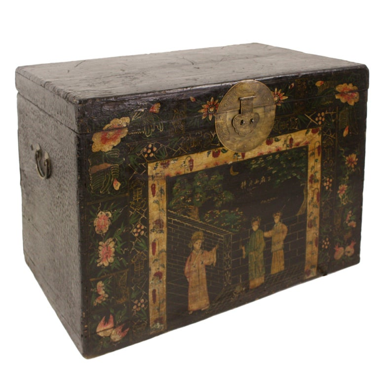 large antique chinese coffee table trunk at 1stdibs