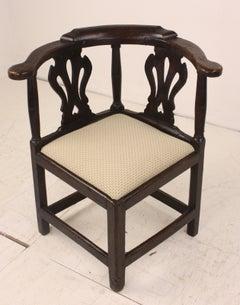 Welsh Period Oak Corner Chair