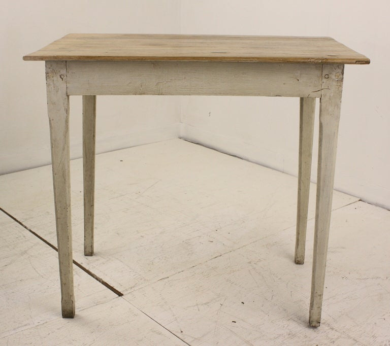 Small French Antique Pine Table 3