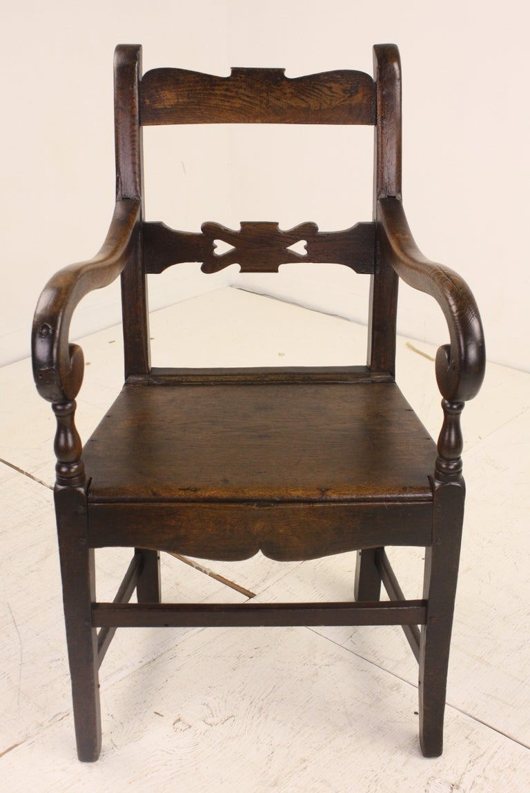 Early Welsh Country Armchair For Sale at 1stdibs