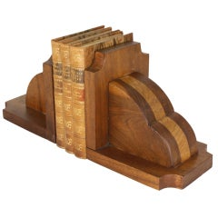 Large English Art Deco Bookends
