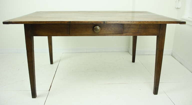 Antique French Cherry Writing Desk Table At 1stdibs