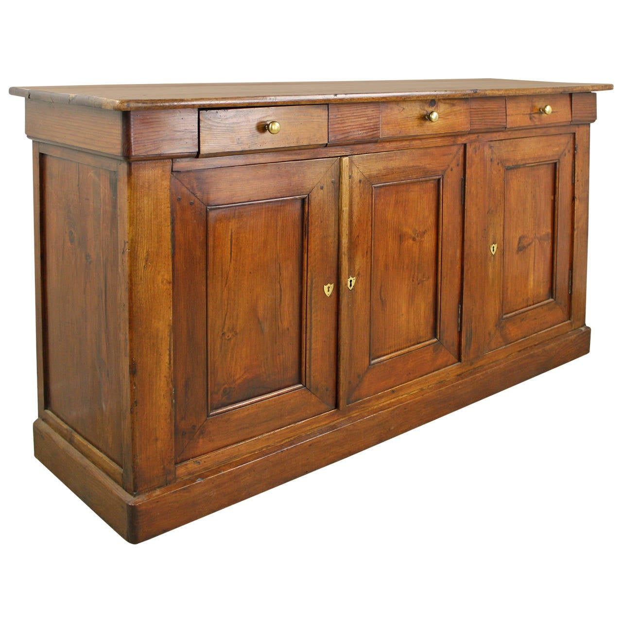antique french rich pine enfilade at 1stdibs. Black Bedroom Furniture Sets. Home Design Ideas