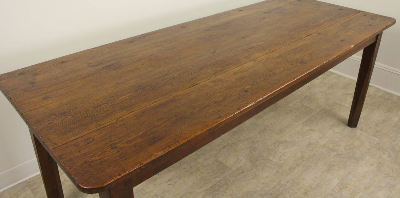 Antique French Pine Farmhouse Table 3