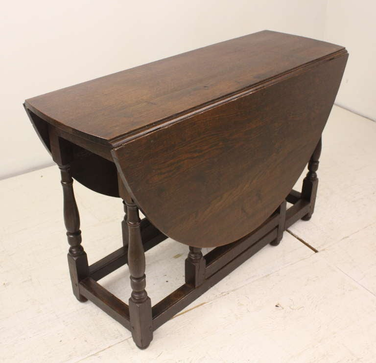 Period Oak English Gateleg Table at 1stdibs : 176l from 1stdibs.com size 768 x 742 jpeg 39kB