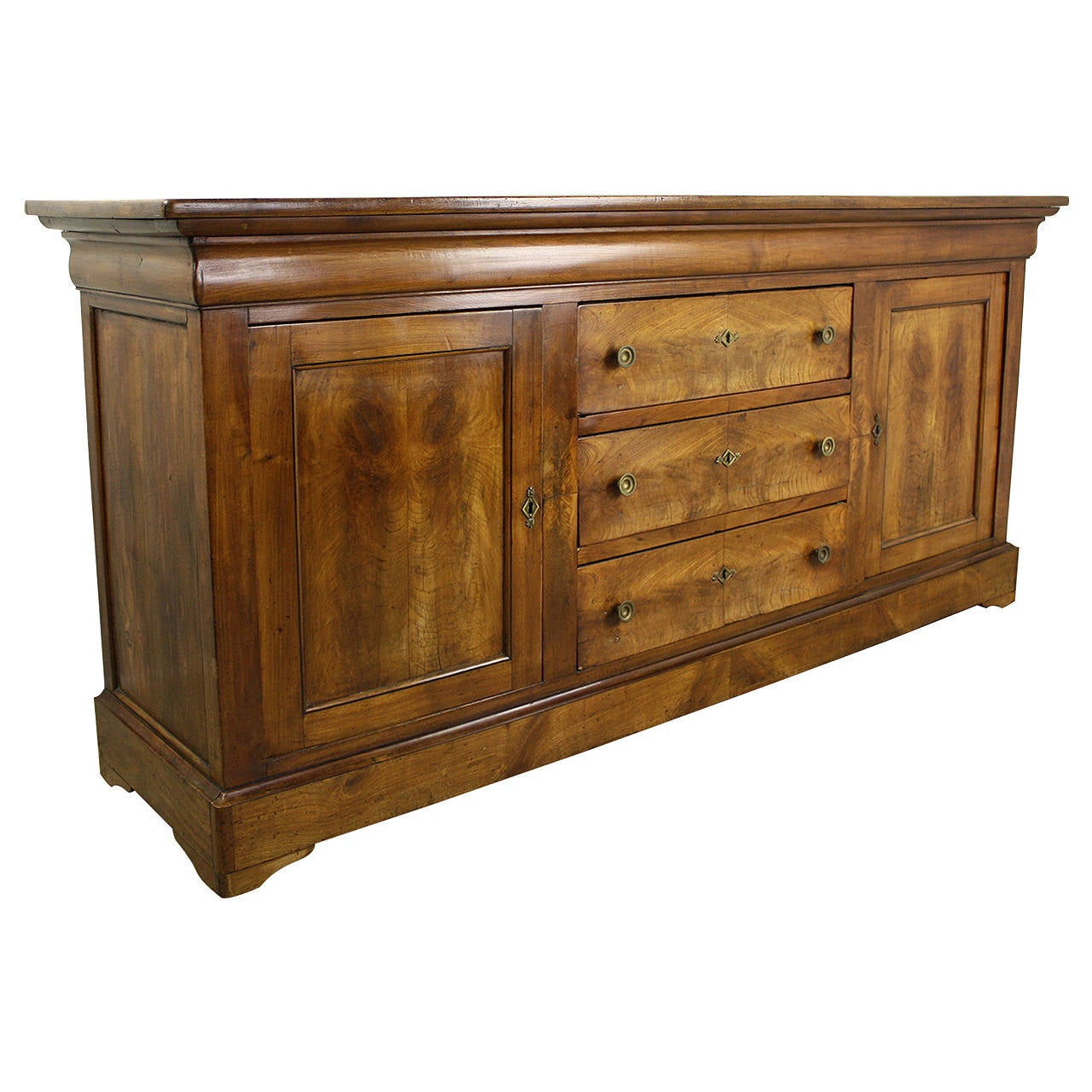 antique french cherry enfilade at 1stdibs. Black Bedroom Furniture Sets. Home Design Ideas