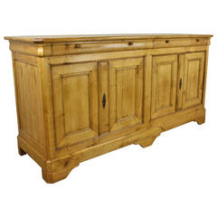 Louis Philippe French Applewood Enfilade