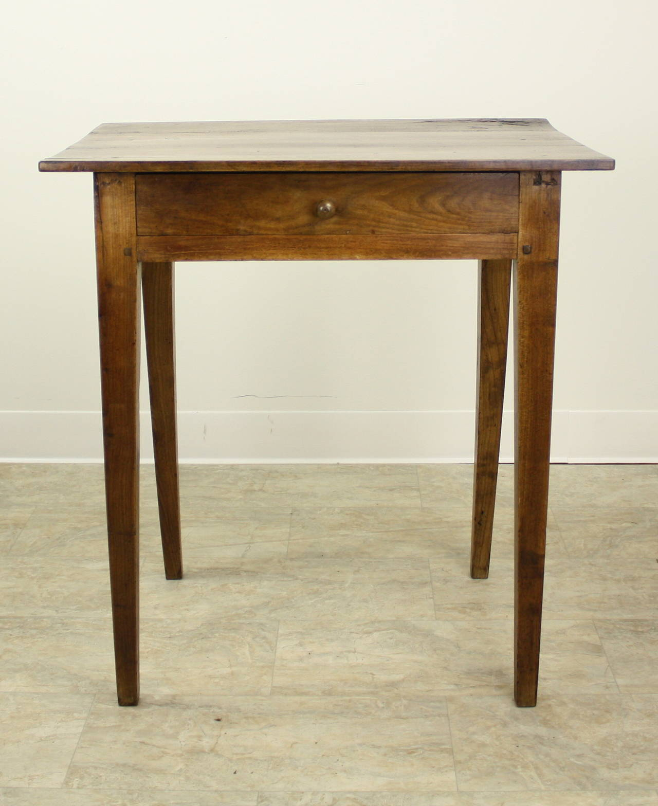 Antique french cherry side table at stdibs