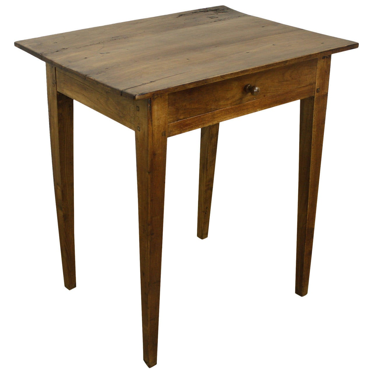 Cherry Side Table ~ Antique french cherry side table at stdibs