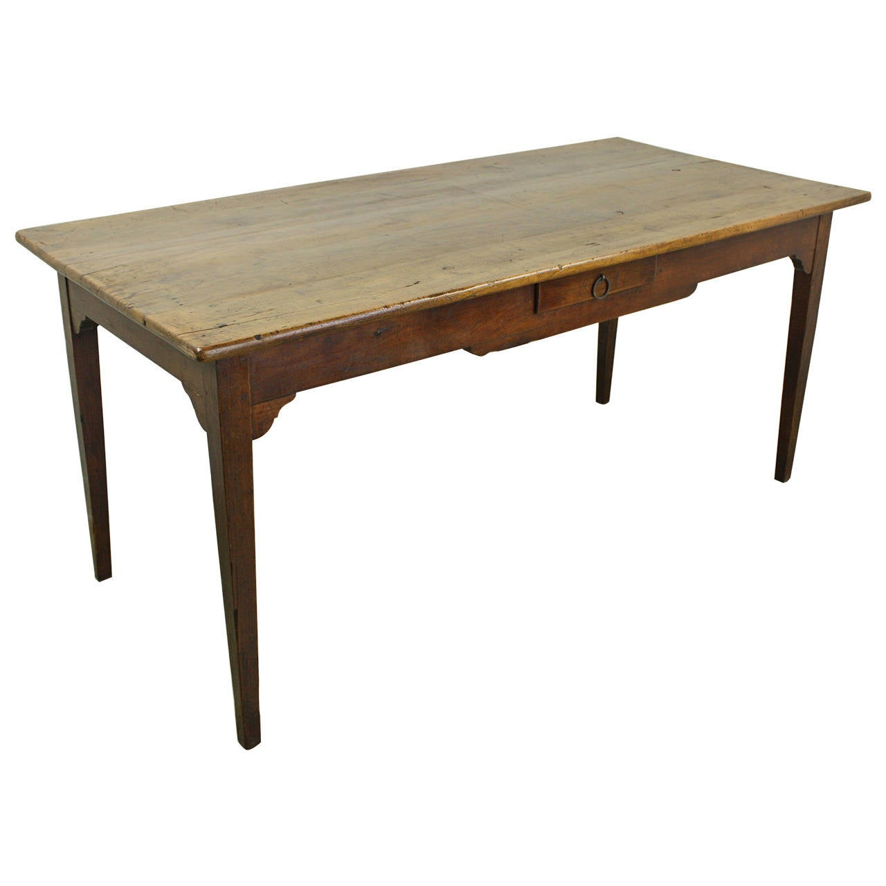 this small antique cherry farm table is no longer available