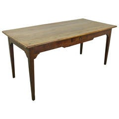 Small Antique Cherry Farm Table