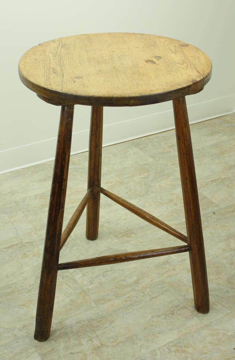 Antique Welsh Pine Cricket Table At 1stdibs
