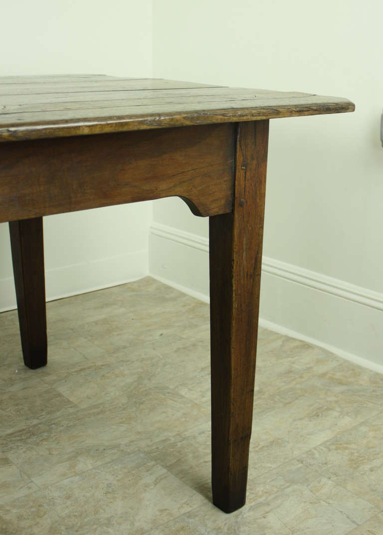 Large french country chestnut dining table at 1stdibs for French country dining table