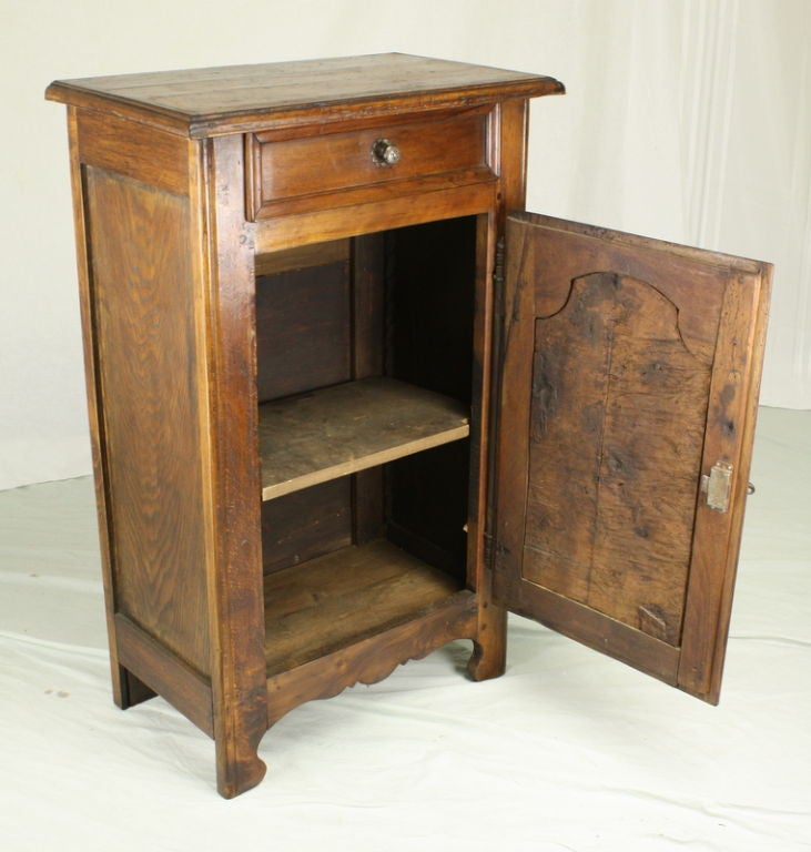 Antique french burl wood side cabinet at 1stdibs for Burl wood kitchen cabinets