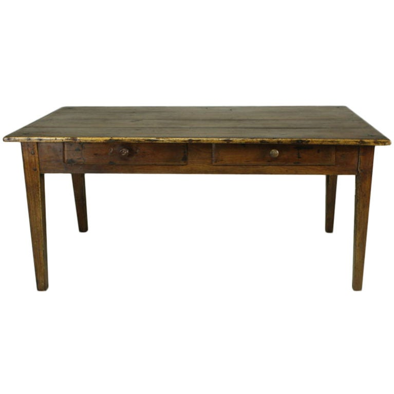 Antique French Cherry Coffee Table At 1stdibs