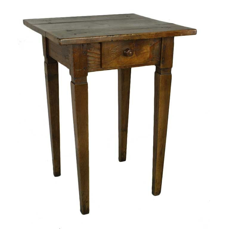 This antique french cherry side table is no longer available - Charming Antique French Cherry Side Table At 1stdibs