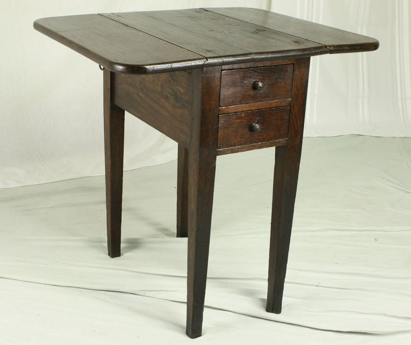 small antique french drop leaf side table at 1stdibs