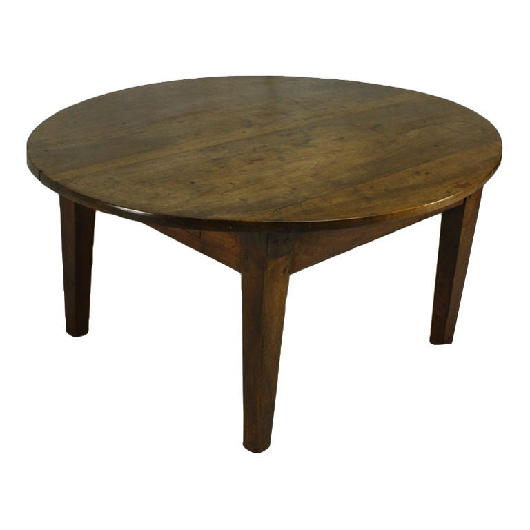 Oval Coffee Table Antique: Antique French Oval Walnut Coffee Table At 1stdibs
