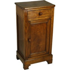 Small Antique French Chestnut Cupboard
