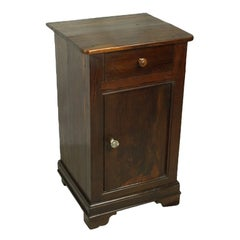 Small Antique French Yew Cupboard