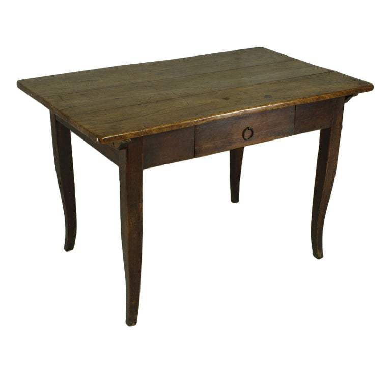This antique french cherry side table is no longer available - Louis Xv Cherry Writing Table At 1stdibs