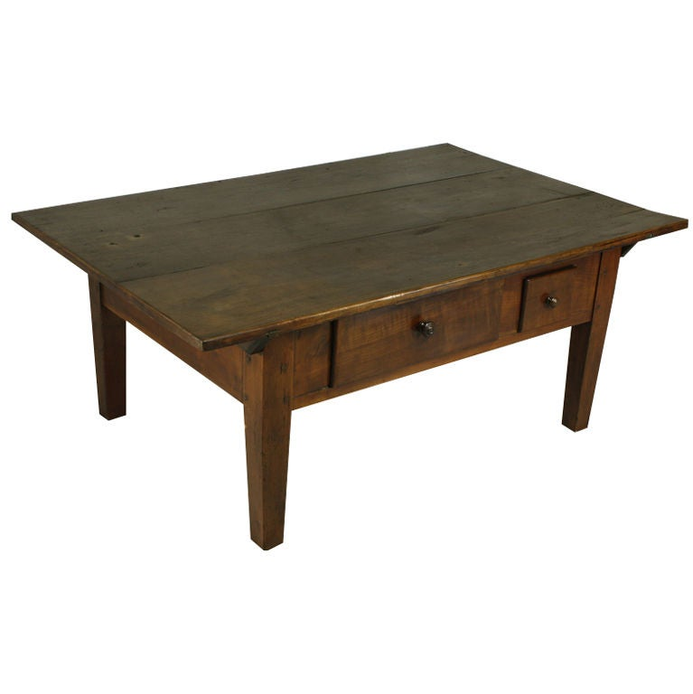 Antique Alsacian Cherry Coffee Table At 1stdibs