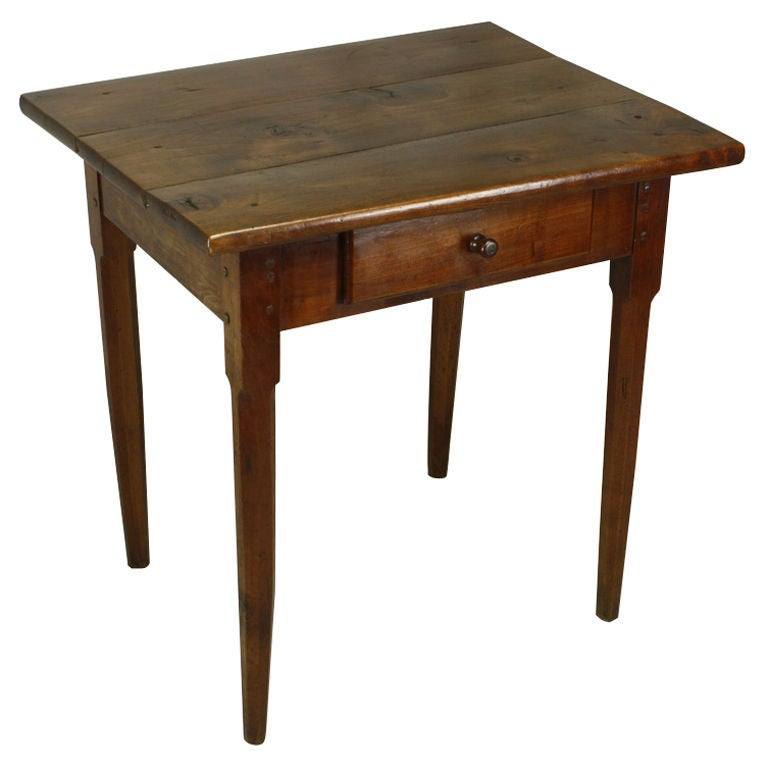 antique french cherry side table at 1stdibs