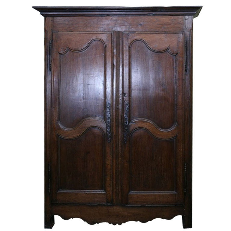 Xxx Antique French Oak Armoire Stdibs
