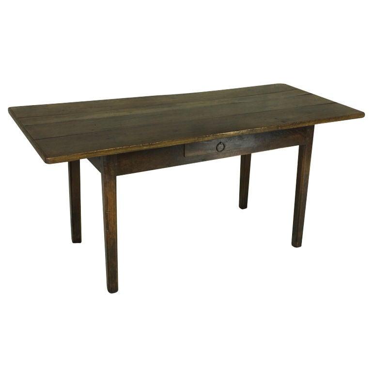 Antique Cherry DeskFarm Table Oak Base at 1stdibs : XXX7910129866331511 from 1stdibs.com size 768 x 768 jpeg 23kB